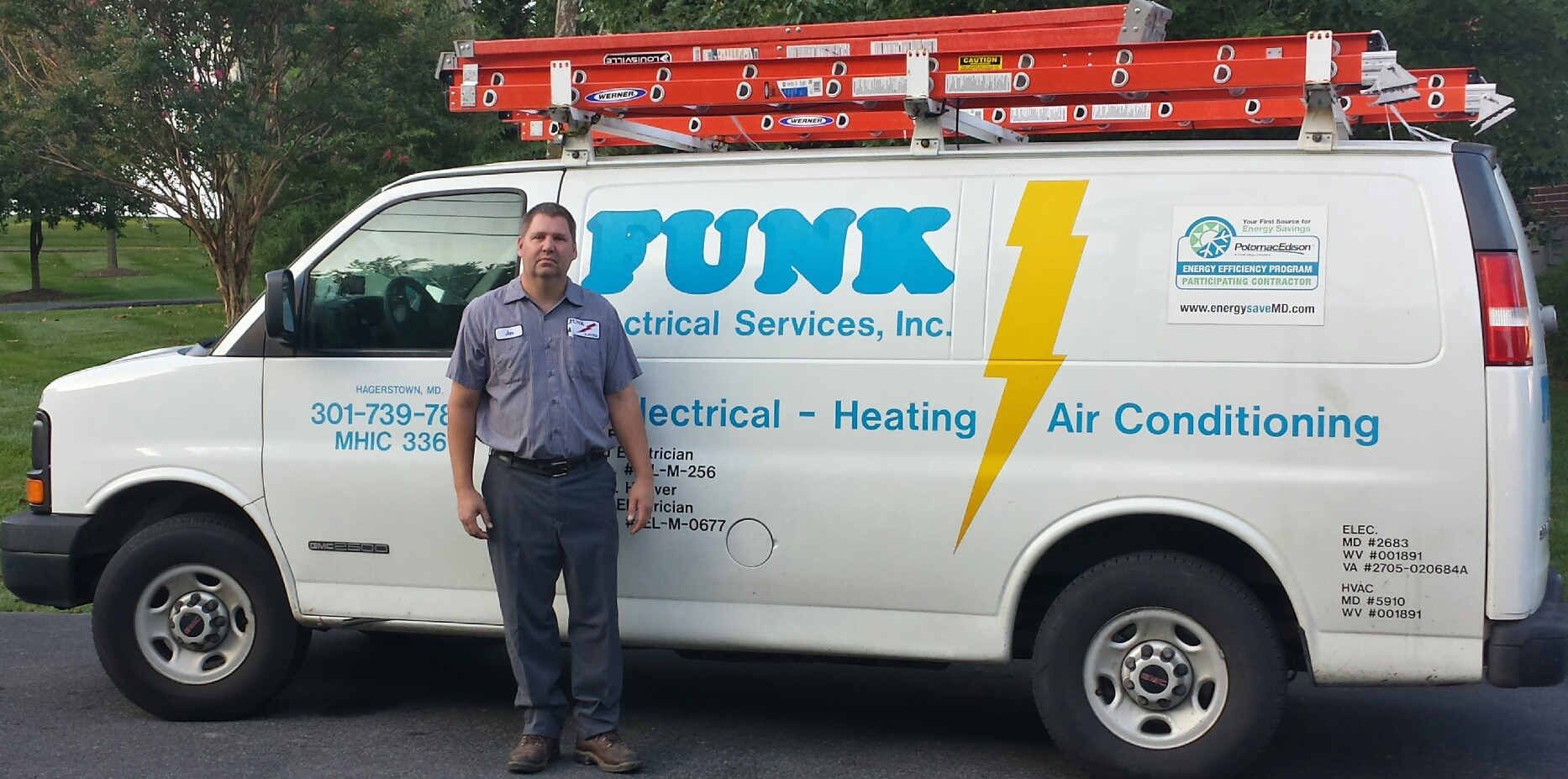 Funk Electrical Electrician And Hvac In Hagerstown Md