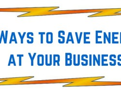5 Ways to Save Energy at Your Business