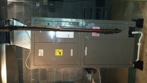 Funk Electrical Fixing a Unit at Fahrney Keedy